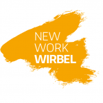 Logo New Work Wirbel