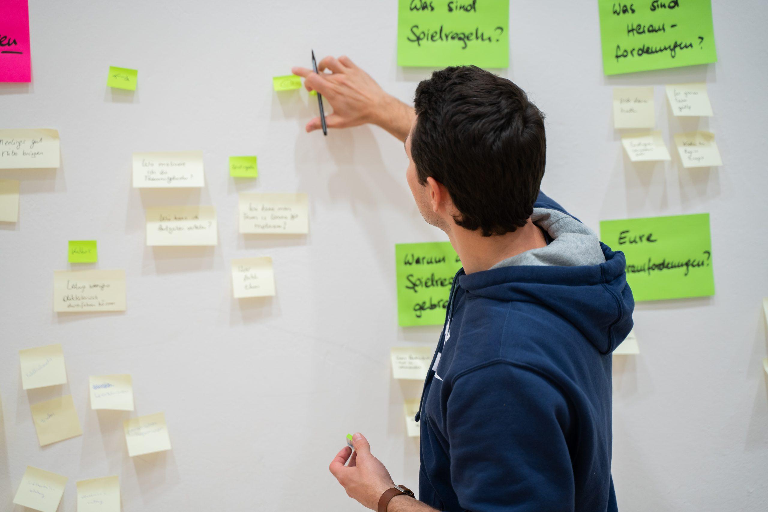 Matthias beim Workshop